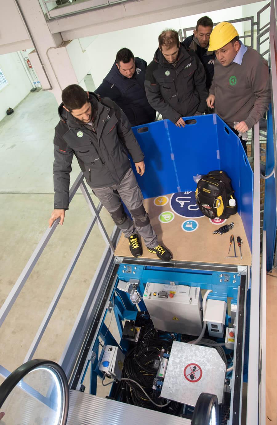 formazione ascensoristi